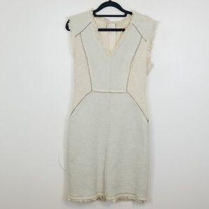 Rebecca Taylor V-neck Sleeveless Midi Dress